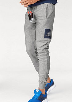 adidas Performance Tepláky »ESSENTIALS BOX LOGO SLIM TAPERED FRENCH TERRY PANT«