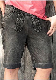 Marjo férfi népviseleti rövidnadrág hímzéssel