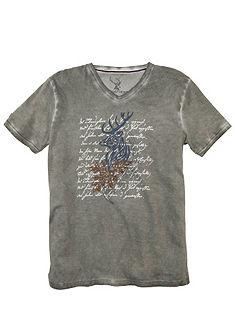 Spieth & Wensky népviseleti férfi póló divatos nyomással