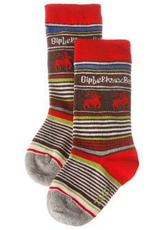 BONDI Detské ponožky s celoplošnou potlačou