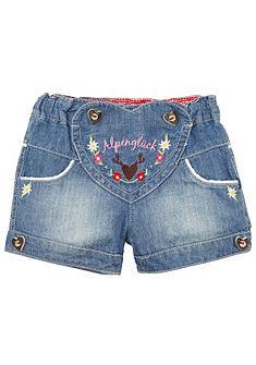 BONDI Krojové dětské kalhoty v obnošeném vzhledu