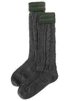 Lusana férfi népviseleti zokni csavart mintával
