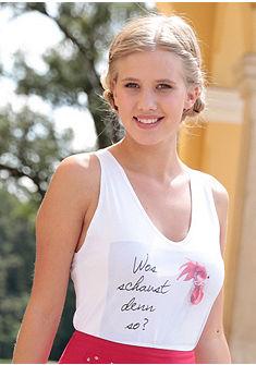 Mondkini népviseleti női póló nyomásmintával