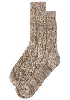 Lusana férfi népviseleti zokni kötött mintával