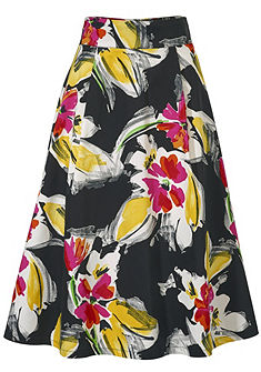 ASHLEY BROOKE by heine Kvetinová sukňa
