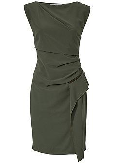 ASHLEY BROOKE by heine egyenes szabású ruha fodorral