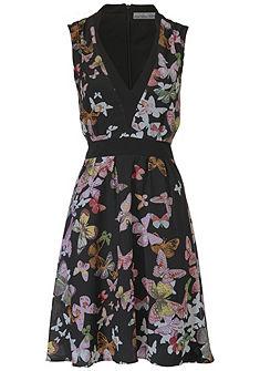 ASHLEY BROOKE by heine nyomott mintás ruha pillangó mintával