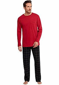 Schiesser pizsama »Scottland Yard«