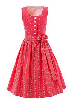 Hohenstaufen Dievčenské krojové šaty vo sviežej farebnej kombinácii