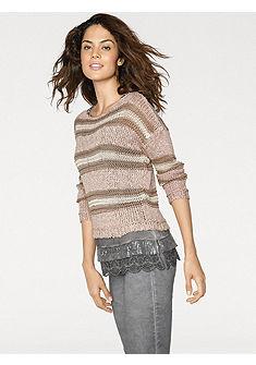 LINEA TESINI by heine Pruhovaný pulovr