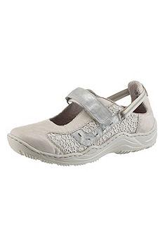 Rieker Nazúvacie topánky na suchý zips