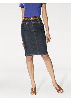 Formujúcá džínová sukně