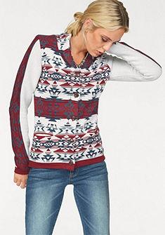 Arizona Pletený sveter »etno vzor«