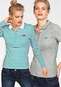 KangaROOS Polo tričko s dlouhým rukávem (2ks, s tričkom)