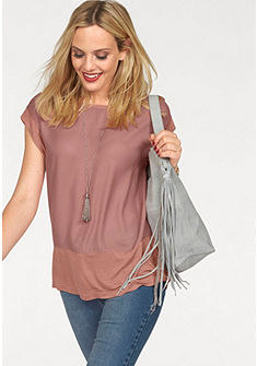 Vero Moda Tričko s okrúhlym výstrihom »GLATTER«