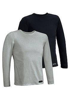 Tričko s dlhým rukávom 2ks