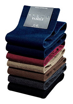 Férfi zokni, Falke, »Family«