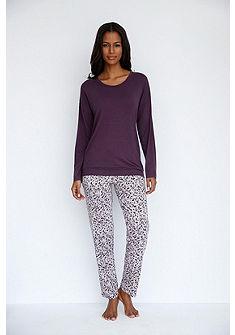 SCHIESSER Pyžamové tričko s dlhými raglánovými rukávmi