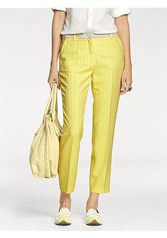 PATRIZIA DINI by heine Vzorované kalhoty s puky
