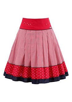 Spieth & Wensky Krojová sukňa skvetinovým lemom