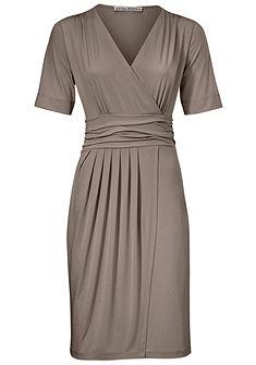 ASHLEY BROOKE by heine Džersejové šaty zavinovacom vzhľade