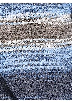 B.C. BEST CONNECTIONS by Heine mintás kerek nyakkivágású pulóver