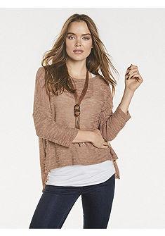 RICK CARDONA by heine Ležérní pulovr s 3/4 rukávy