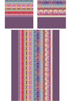Posteľná bielizeň, CASATEX »Indio« s farebným vzorom cik-cak