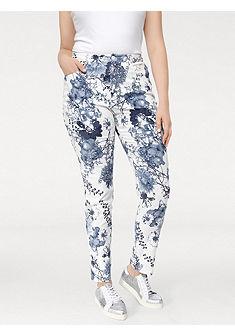 ASHLEY BROOKE by Heine alakformáló virágos nyomott mintás nadrág