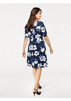 PATRIZIA DINI by Heine virágos nyomott mintás ruha