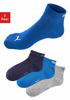 PUMA Sportovní ponožky (3 páry) žebrované