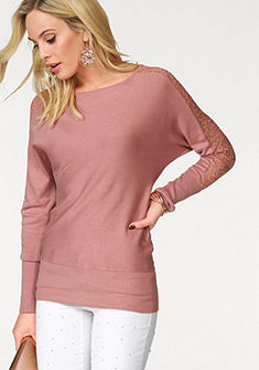Melrose denevérujjú pulóver