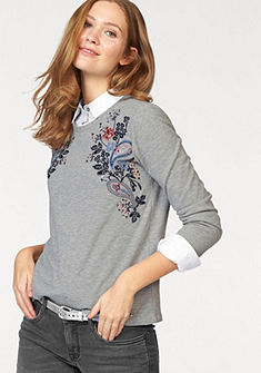 Tom Tailor szabadidőfelső »embroidery sweatshirt«