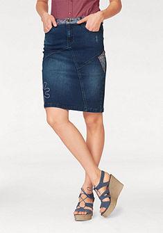 Boysen's Riflová sukňa »Pencil Skirt«