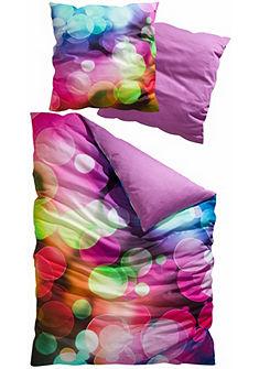 Obojstranná posteľná bielizeň, My Home Selection »Circles« v pestrých farbách