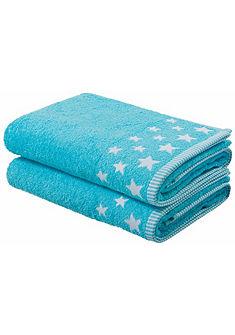 my home fürdőlepedő  »Stern«, csíkokkal és csillag mintával