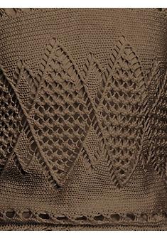 B.C. BEST CONNECTIONS by Heine azsúr mintás pulóver