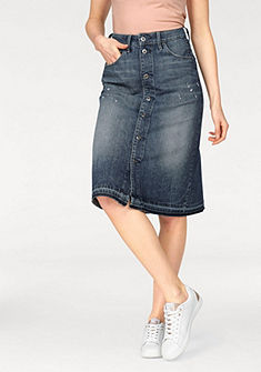 G-Star Riflová sukňa »Arc BTN A-line Midl Skirt«