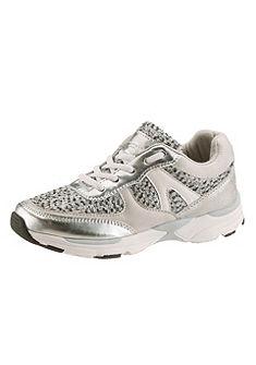 Tom Tailor fűzős cipő anyagkeverék, fémes hatású