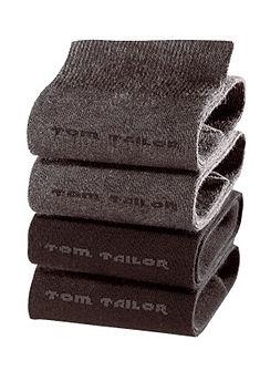 Férfi zokni, Tom Tailor (4 pár)