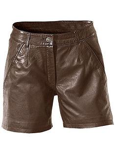 Kožené šortky, z jehněčí kůže napa