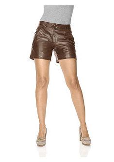 Kožené šortky