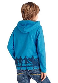 CFL Tričko s dlhými rukávmi a kapucňou pre chlapcov