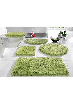 Fürdőszobaszőnyeg, Stand-WC-Set, my home, »Sanremo«, magasság 30 mm, mikroszálas, csúszásgátló hátoldal