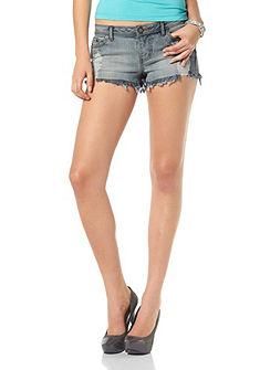 Laura Scott Strečové džínové šortky