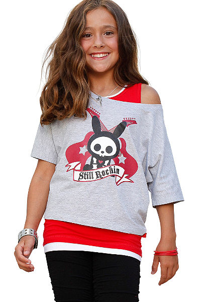 Skelanimals Lányka póló