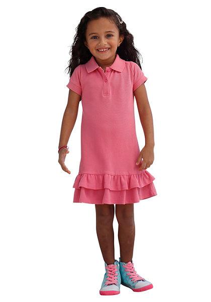 Petite Fleur Šaty polo pro dívky