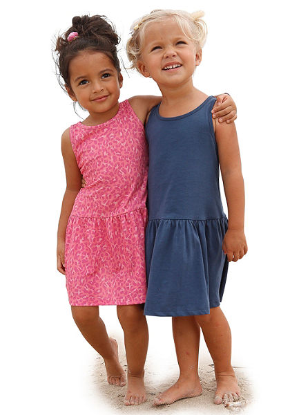Petite Fleur Šaty pro dívky (2 ks)