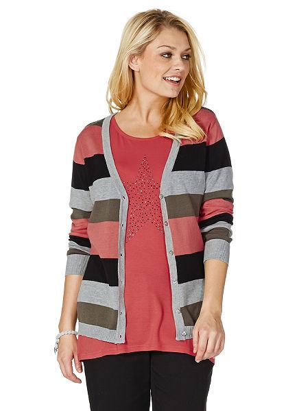 sheego Pletený svetr