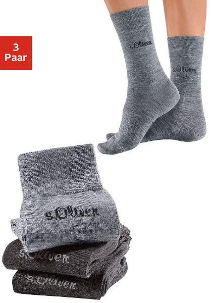 Dámské ponožky, s.Oliver (3 páry)